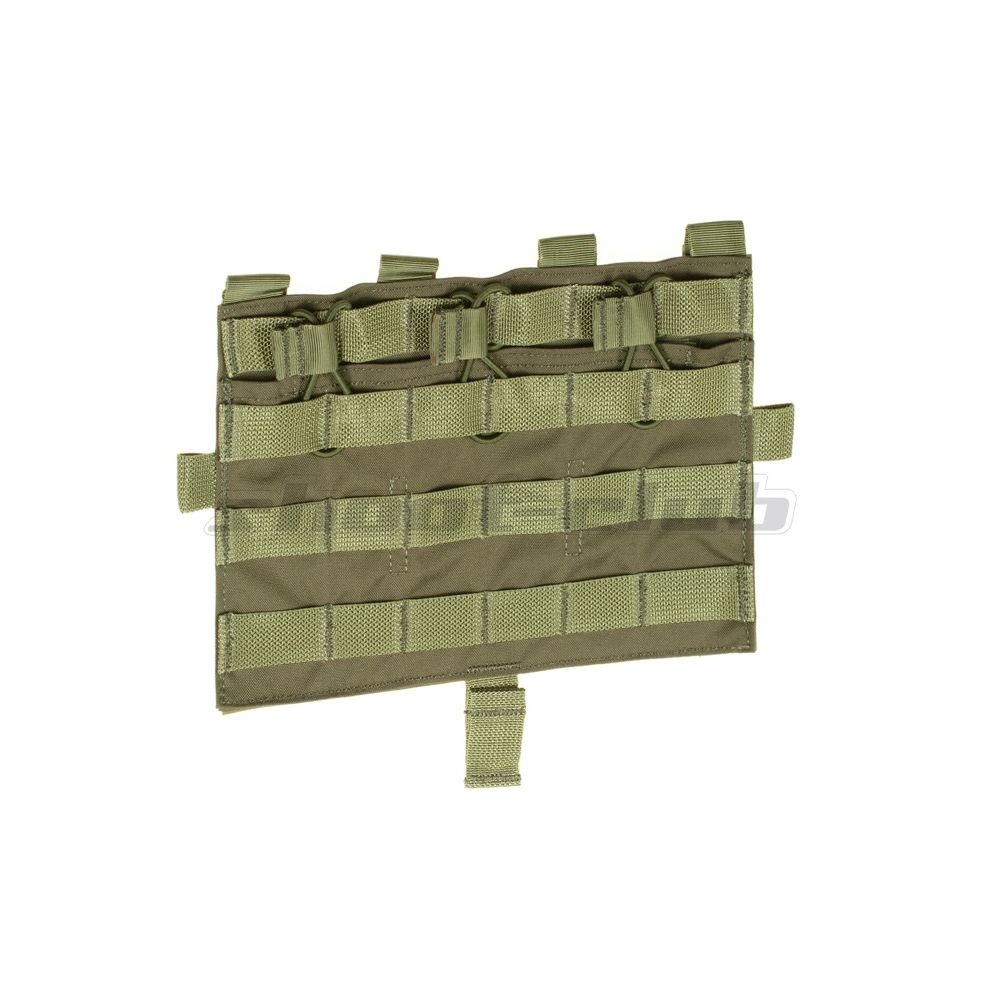 Crye Licensed AVS/JPC Molle Front Flap M4 - Ranger Green