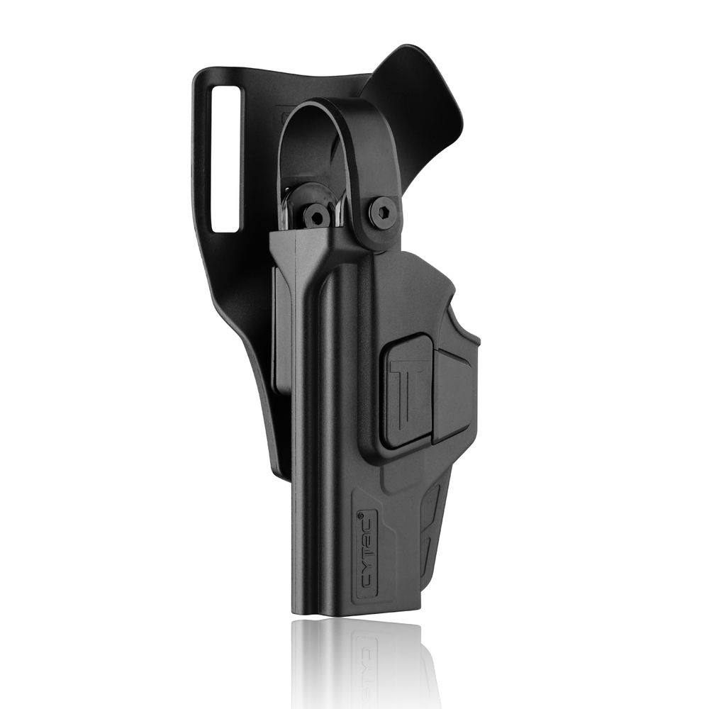 Cytac Duty Holster Level III für Glock 17 Gen 4 & Gen 5 Links