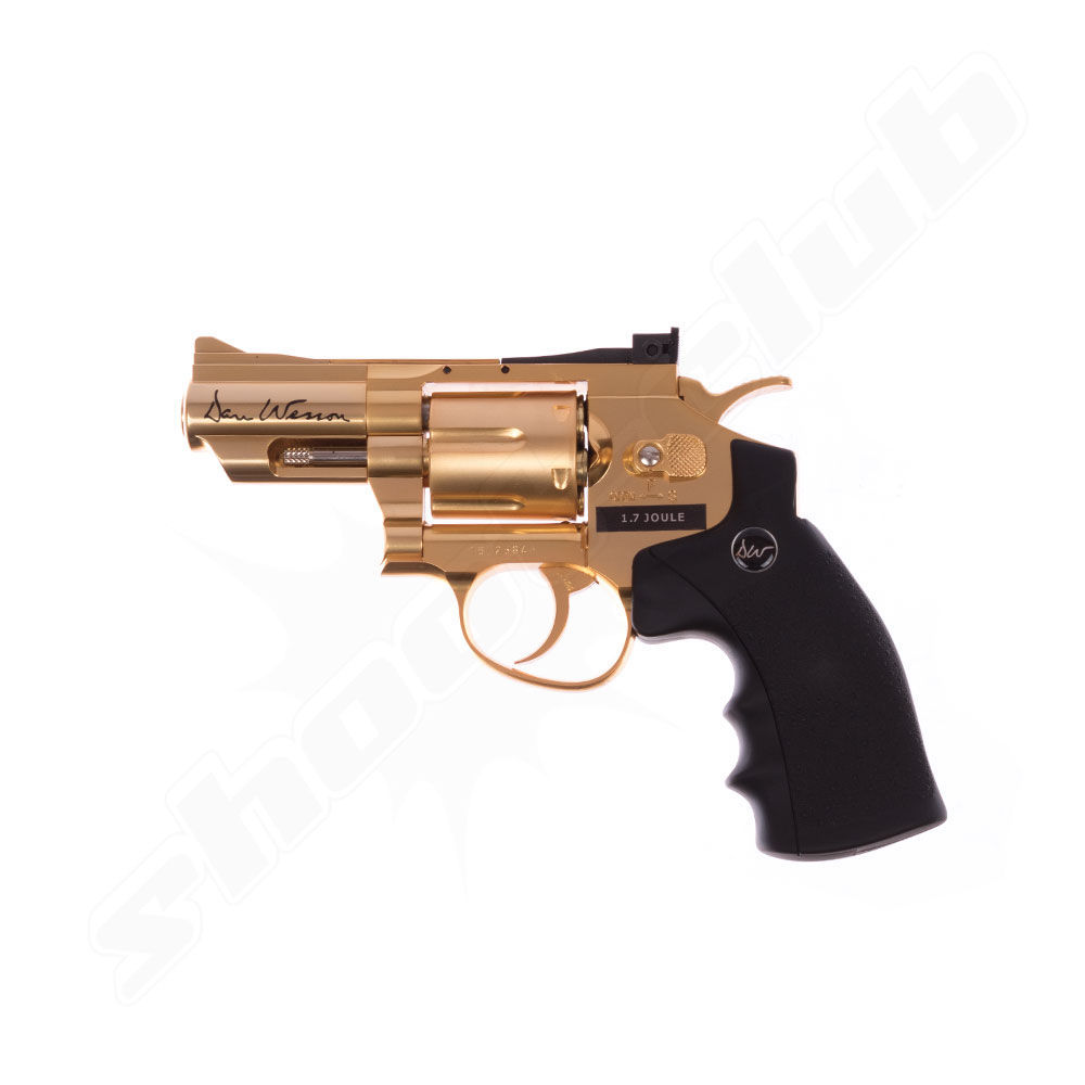 Dan Wesson 2,5 Revolver - Gold Edition - Kal. 4,5mm - max. 1,7 Joule