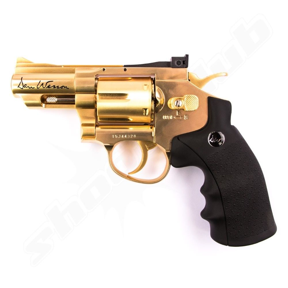 Dan Wesson CO2 Revolver 2,5 Zoll Softair 6mm - Gold