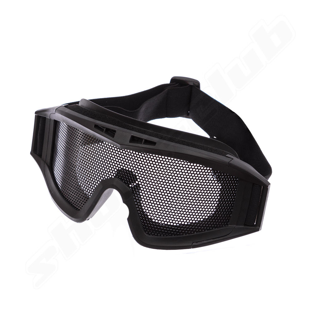 Elite Force MG300 Schutzbrille black metal mesh