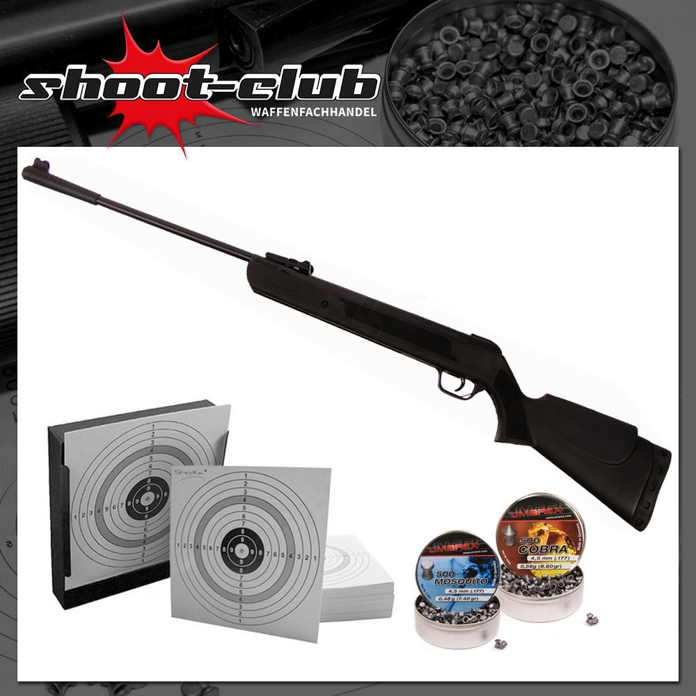 First Strike Bearhunter Luftgewehr 4,5 mm Diabolos im Set