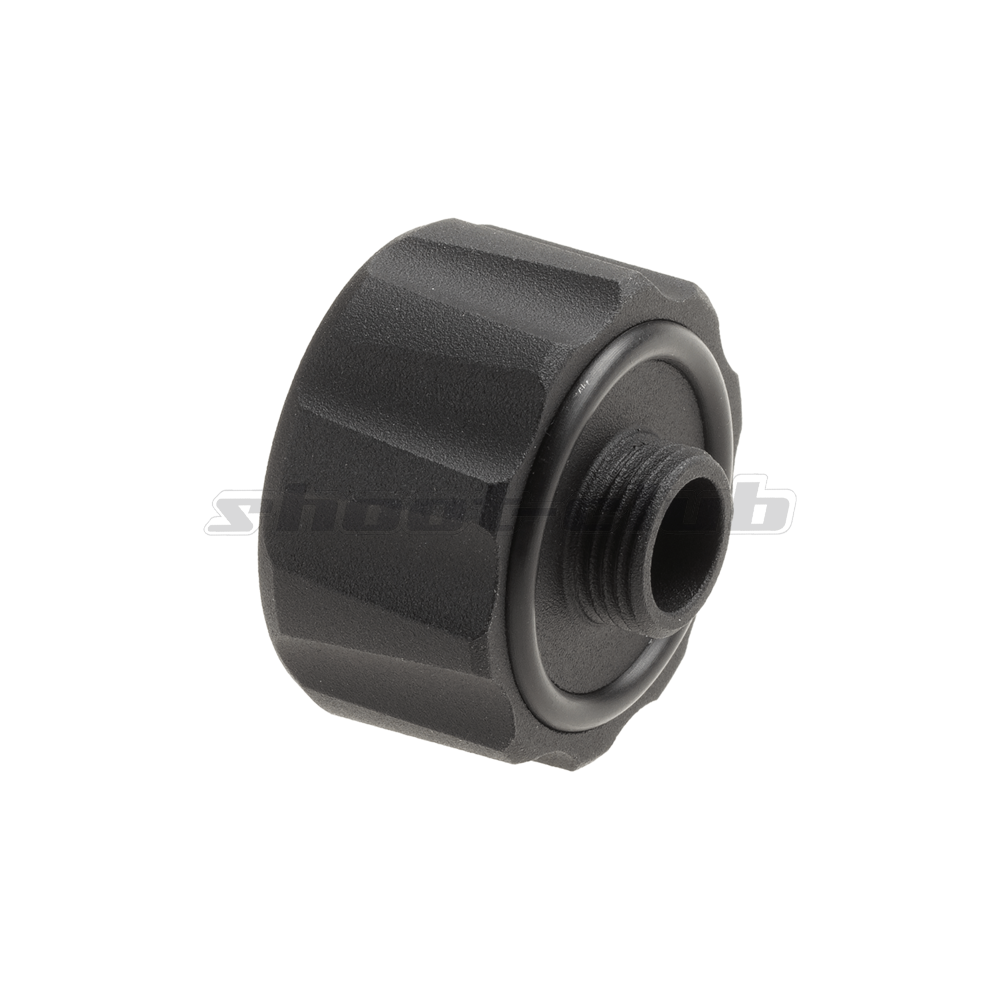 G&G Battle Owl Tracer Unit 14mm CCW Adapter - Black