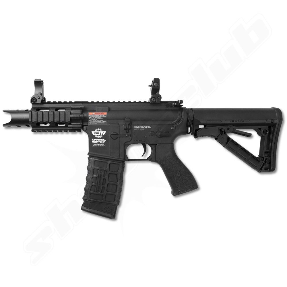 G&G Firehawk  next Gen. AEG 0,5 Joule Softair Komplettset 6mm BK