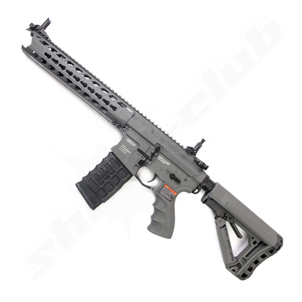 G&G GC16 Predator AEG 0,5J 6mm Airsoft Battleship Grey - ab14