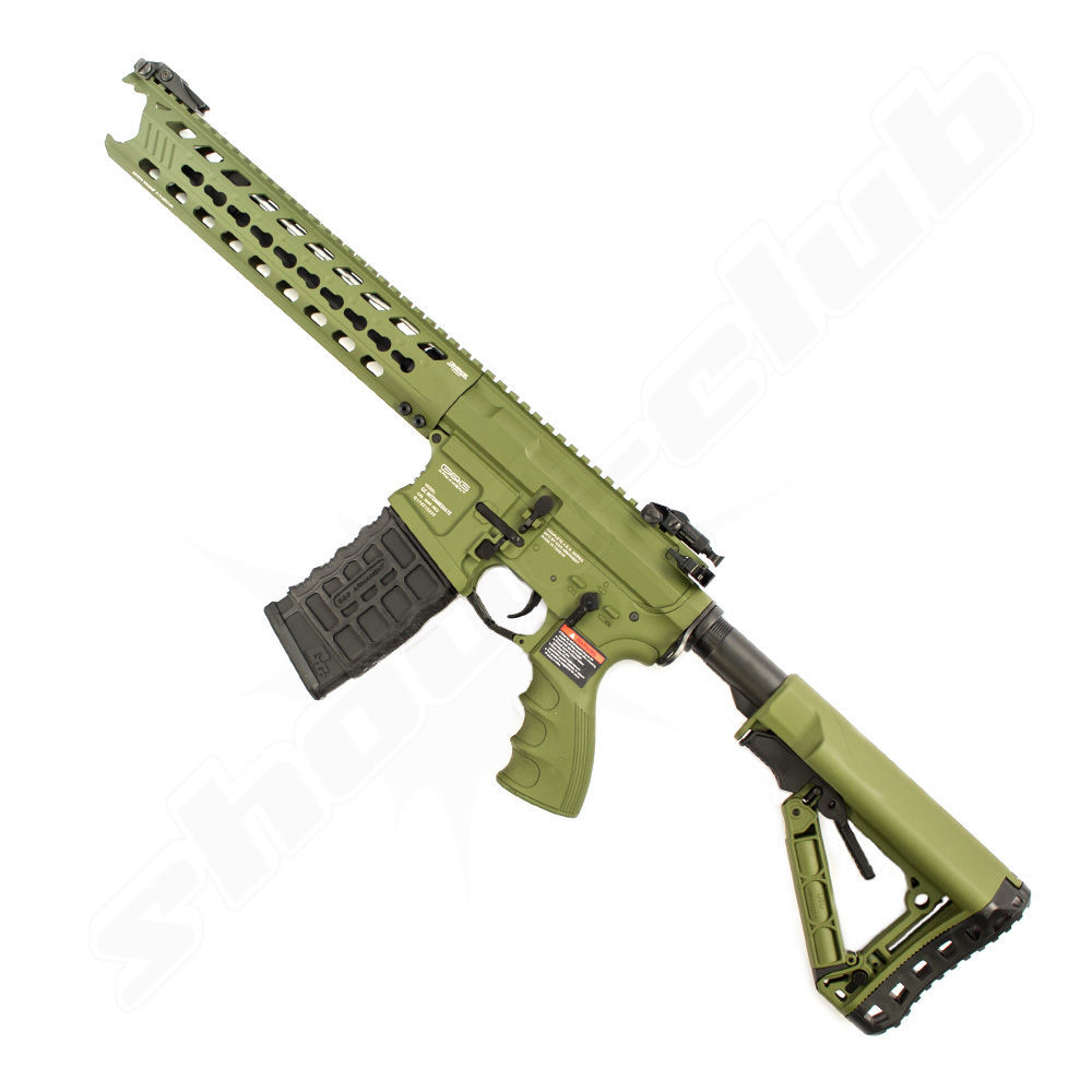 G&G GC16 Predator Vollmetall AEG - Hunter Green