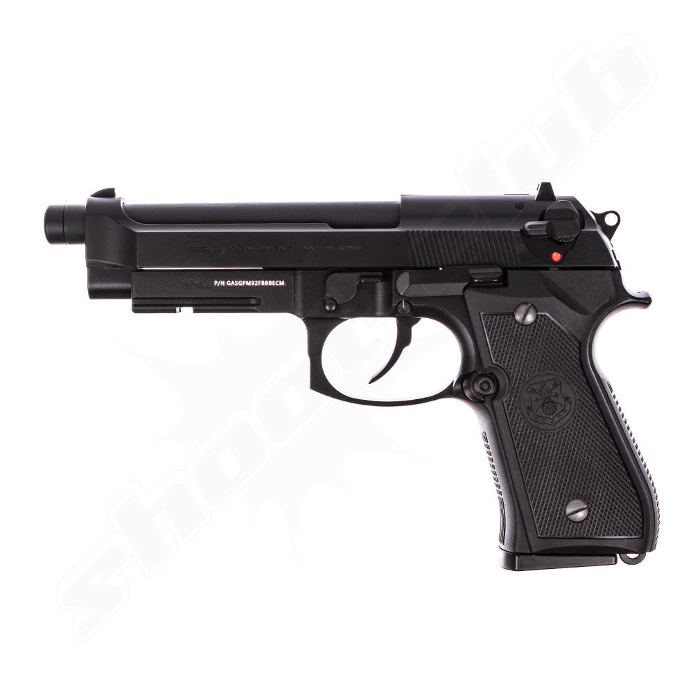 G&G GPM92 GBB - 6mm Airsoft Pistole ab18, Black