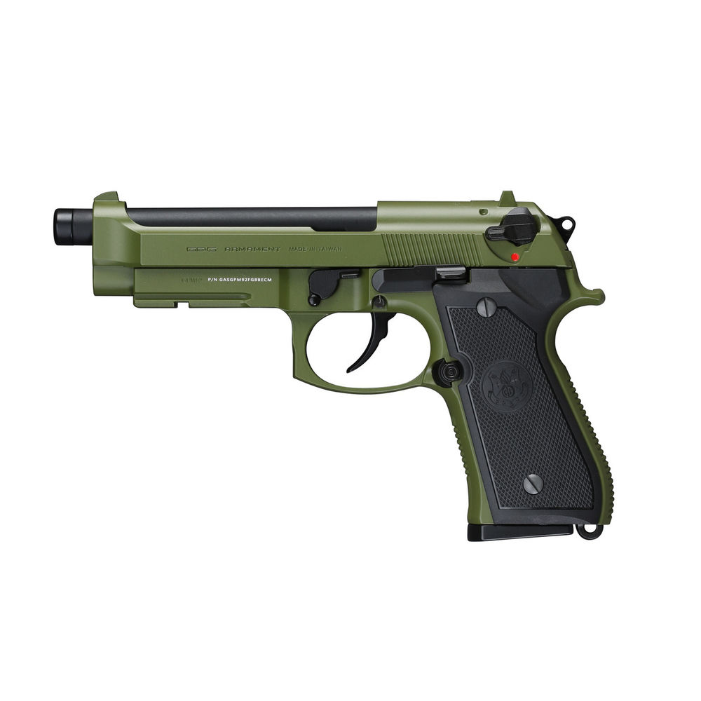 G&G GPM92 GBB 6mm Airsoft Pistole ab18 OD Green