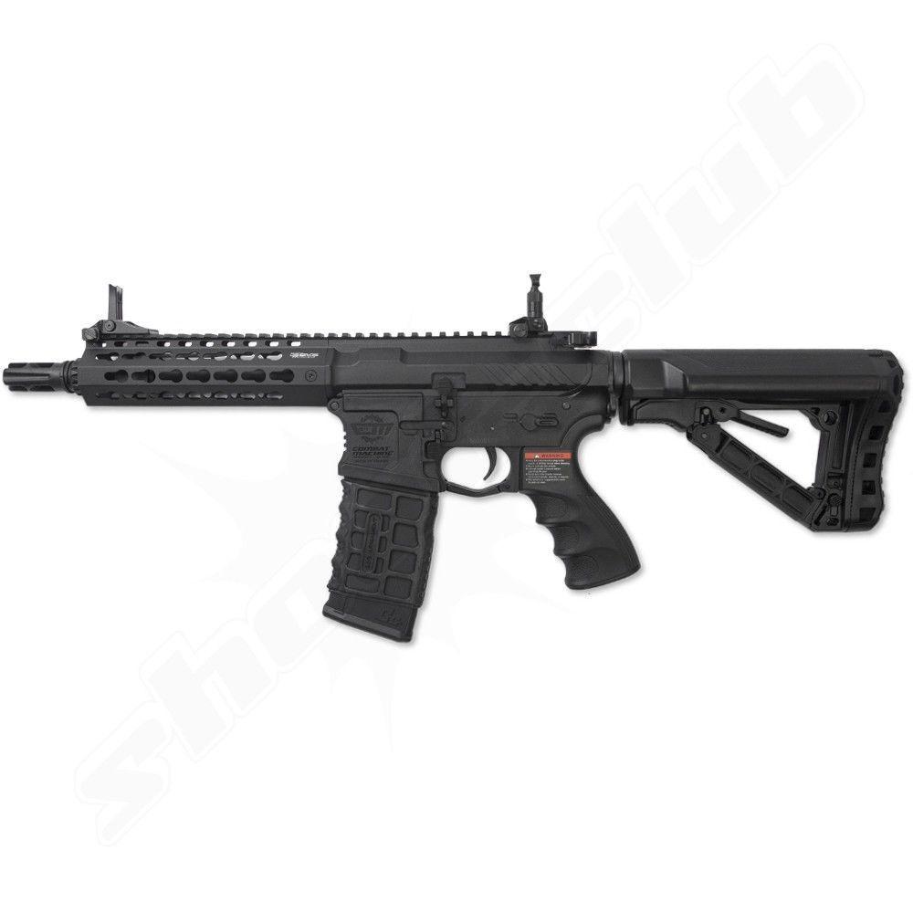 G&G M4 CM16 SRS Softair Gewehr 6mm AEG BK