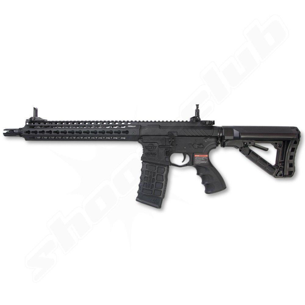 G&G M4 CM16 SRXL Softair Gewehr 6mm AEG BK