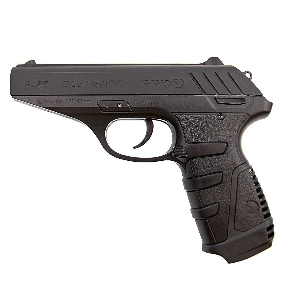 Gamo P25 Luftpistole Blow Back Kaliber 4,5 mm