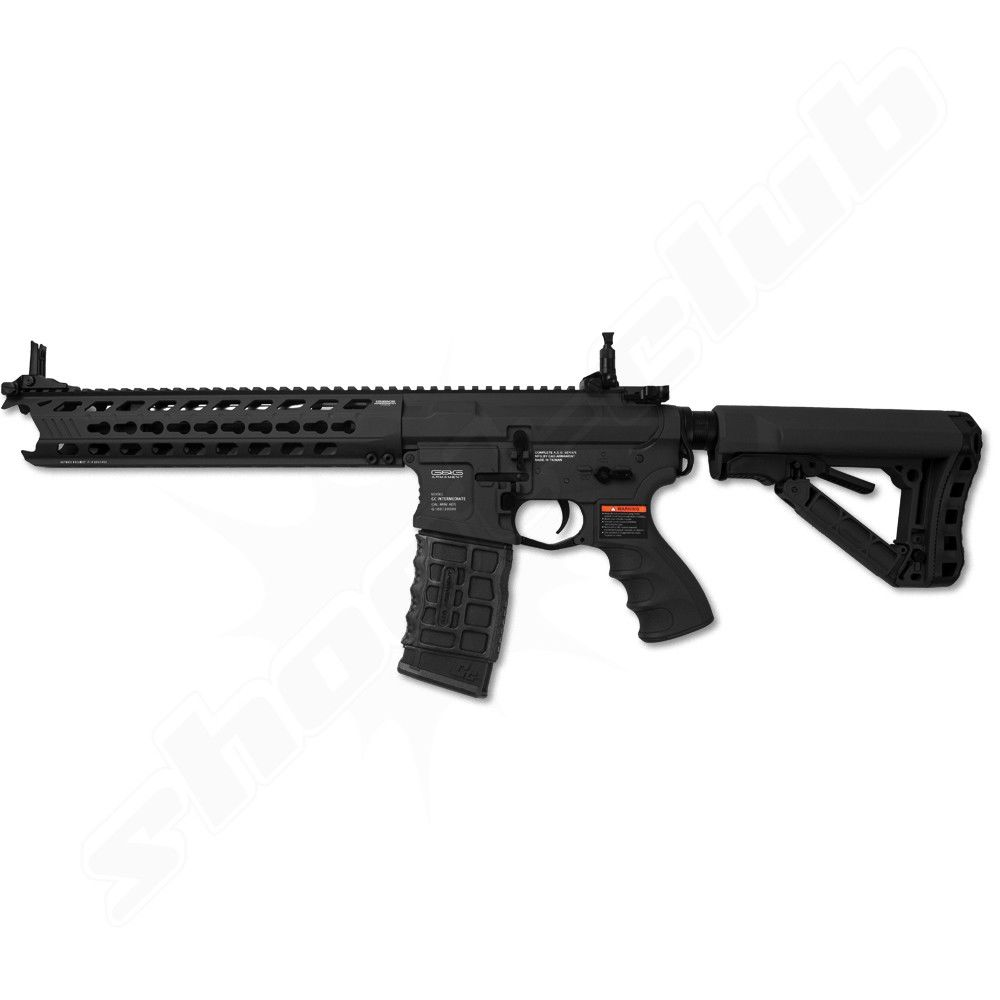 G&G GC16 PREDATOR Black Death SOFTAIR 0,5J