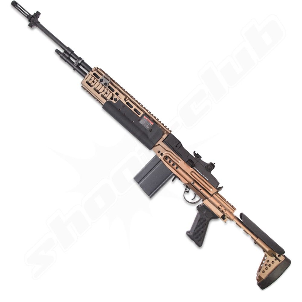 G&G M14 EBR-L AEG Softair 6mm - max. 0,5 J