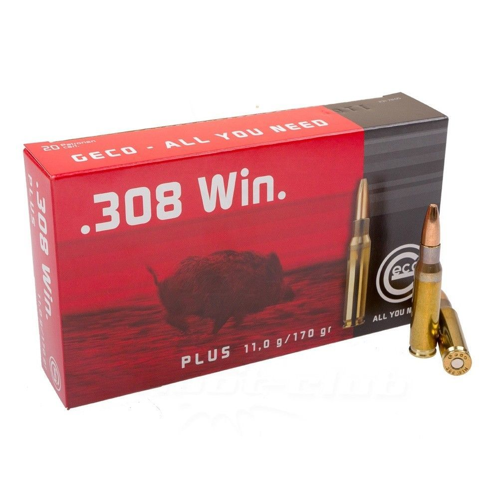 Geco .308 Win. Plus 11,0 g / 170 gr - 20 Stk