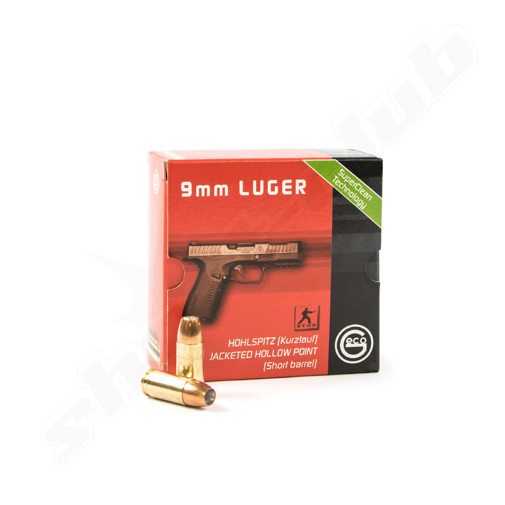 Geco Hohlspitz 8,0g / 123grs - 9mm Luger