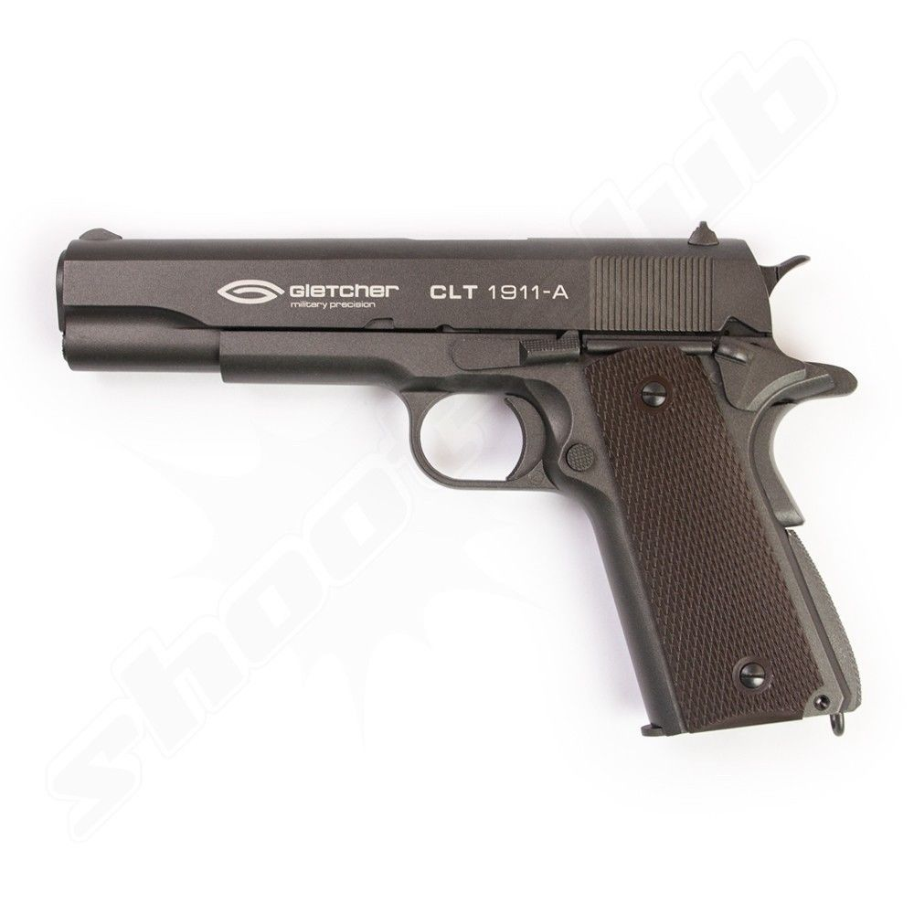 Gletcher CLT 1911-A CO2 Softair Pistole GBB 1,2 J