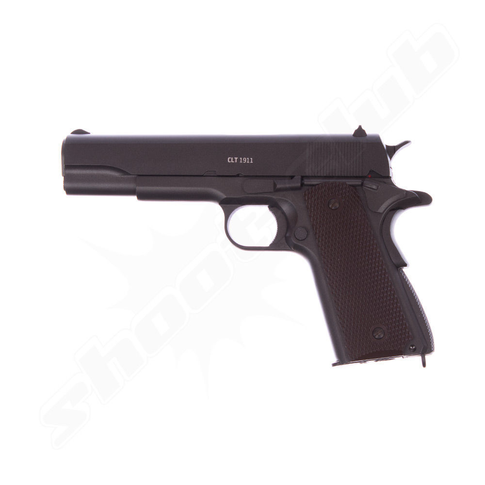 Gletcher CLT 1911 CO2 Pistole - 4,5mm Stahl BBs