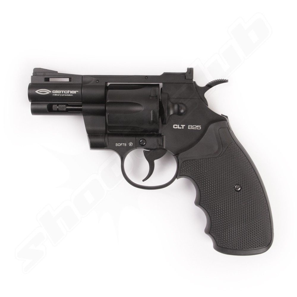 Gletcher CLT B25 CO2 Revolver - 4,5mm Stahl BBs
