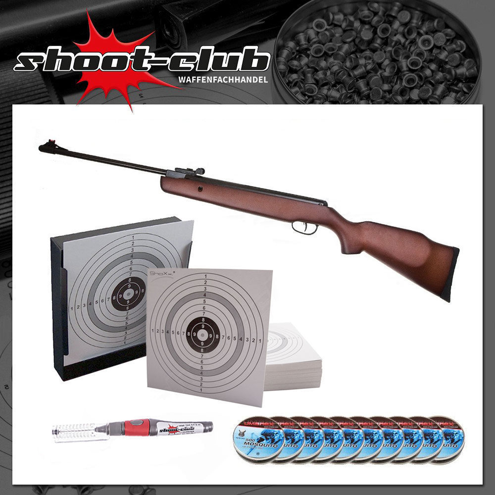 Hämmerli Black Force 550 - Luftgewehr 4,5mm - Set