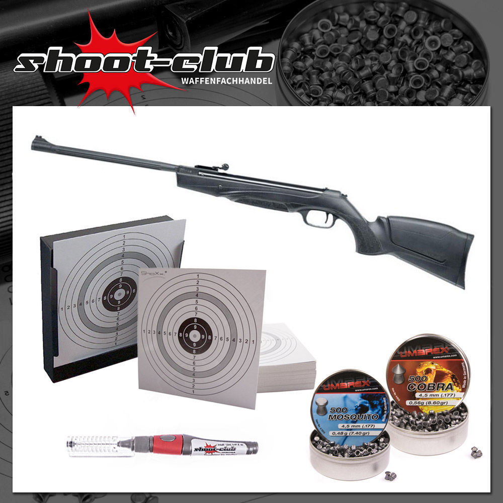 Hämmerli Black Force 880 Luftgewehr im Starter-Kit