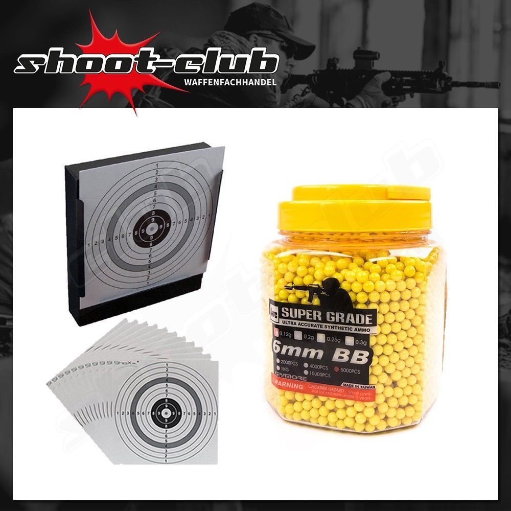 HFC Super Grade Softair BB's 0,12 g - 5000 Stk. im Set