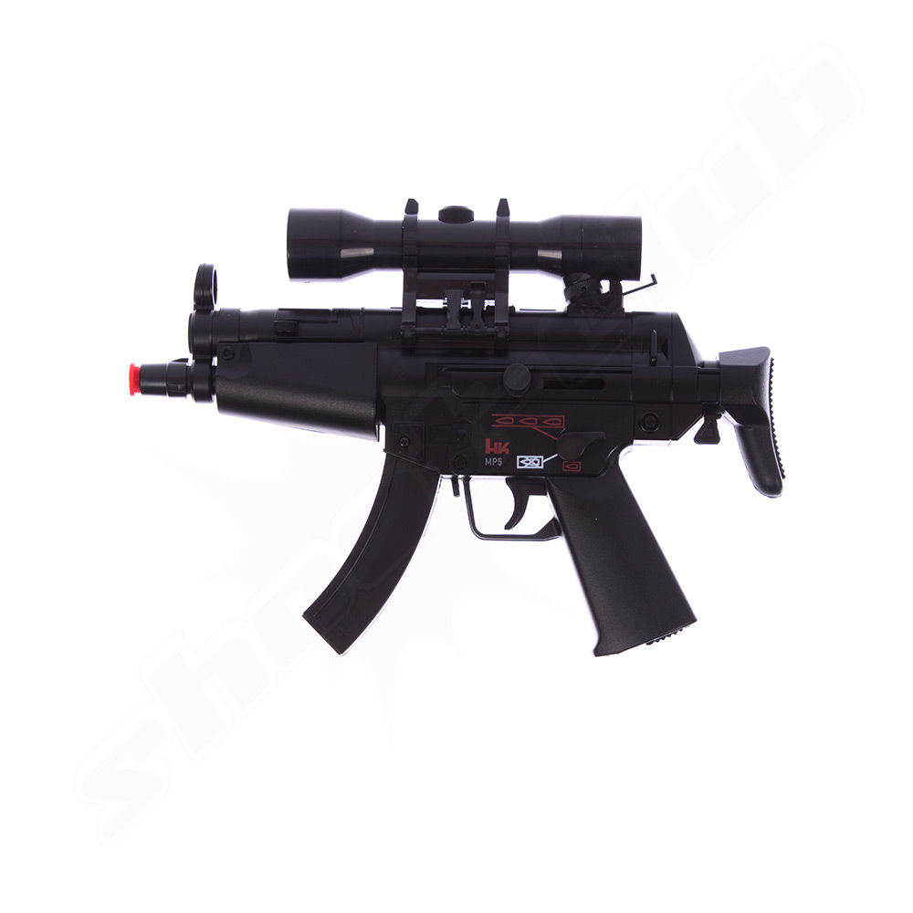 H&K MP5 Kidz DP Softair-Gewehr - Dual Power, Kal. 6mm