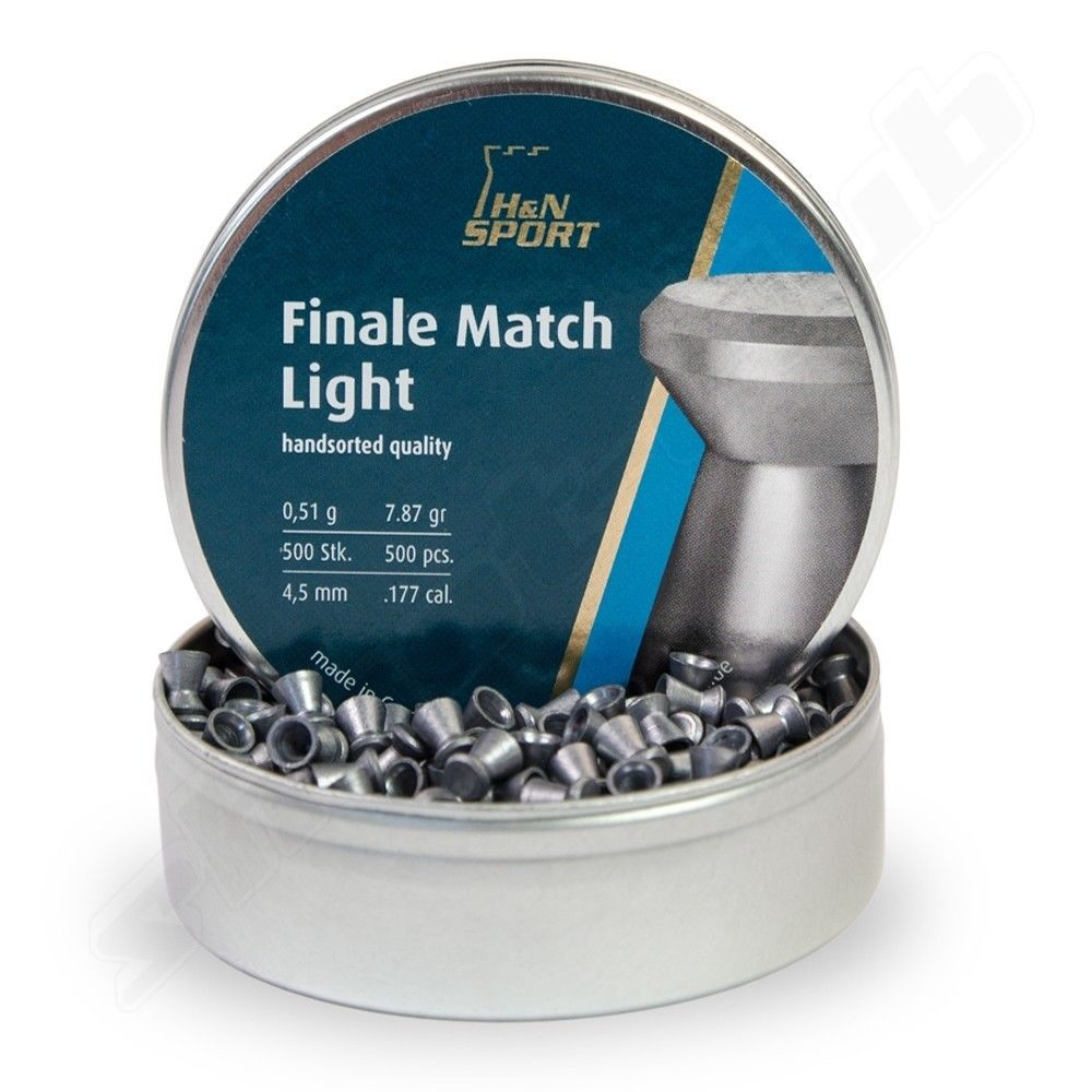 H&N Finale Match Light Diabolos 4,49mm - 500 Stk.