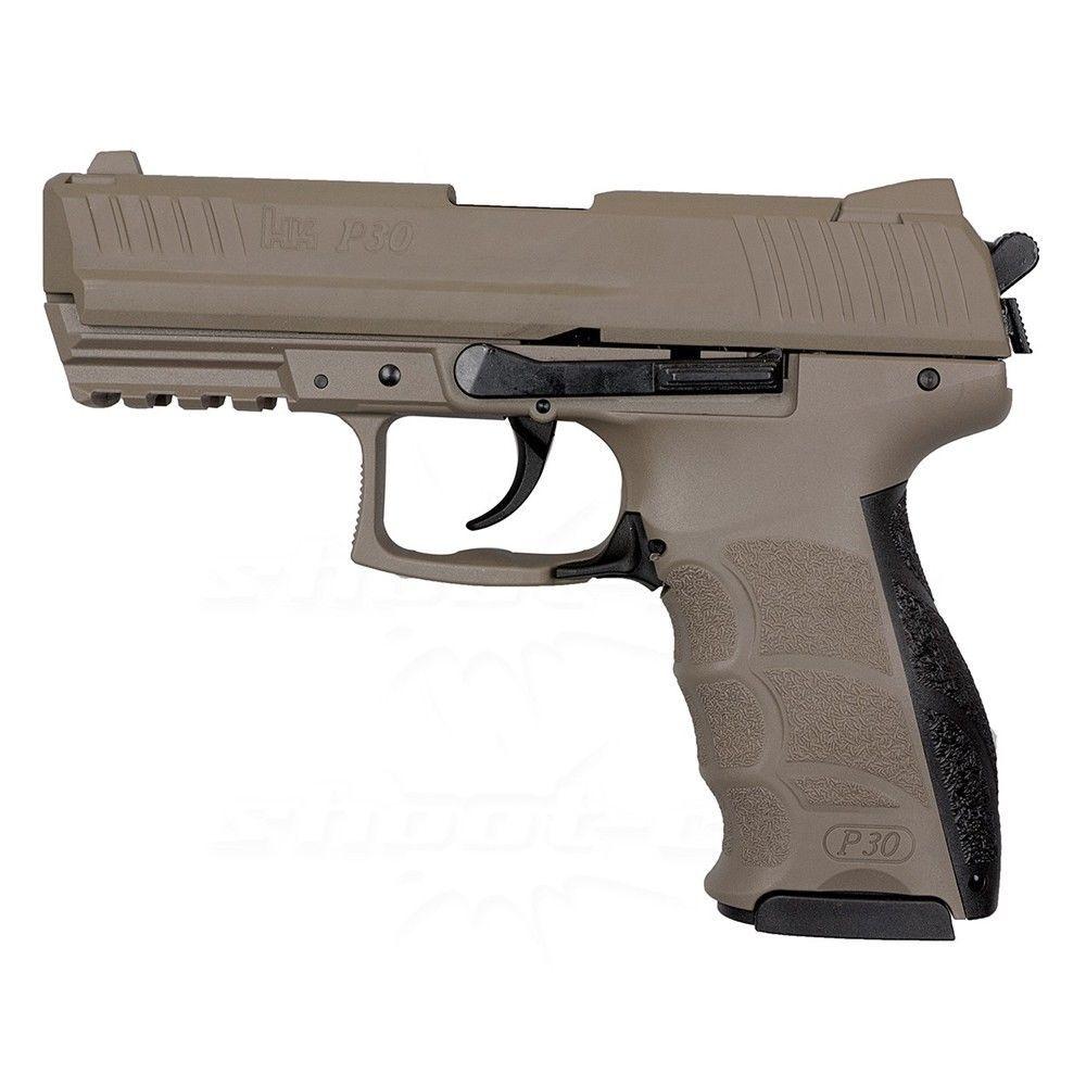 H&K P30 FDE Schreckschusspistole Kal. 9mm