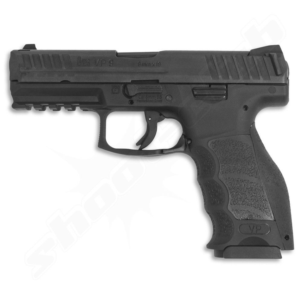 H&K VP9 Softair Pistole GBB Kal. 6mm max. 1 Joule - schwarz