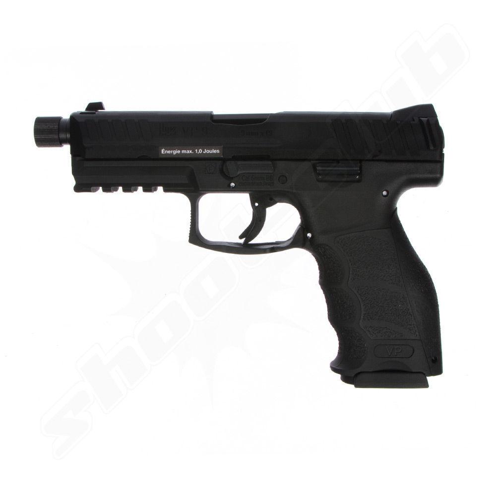 Heckler & Koch Softairpistole VP9 GBB Kaliber 6 mm BB / schwarz