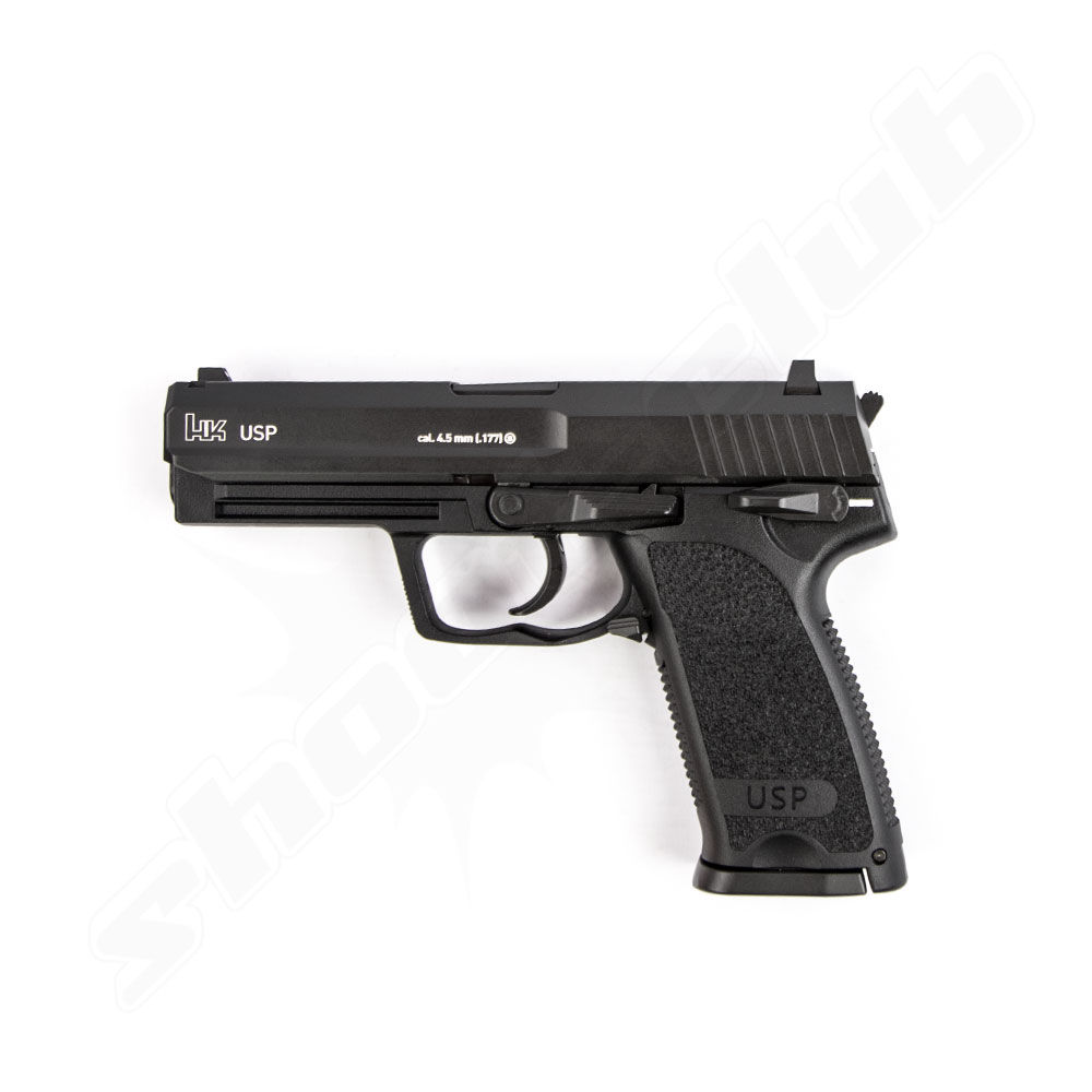 Heckler & Koch USP CO2 Pistole im Kaliber 4,5 mm BB mit Blow Back
