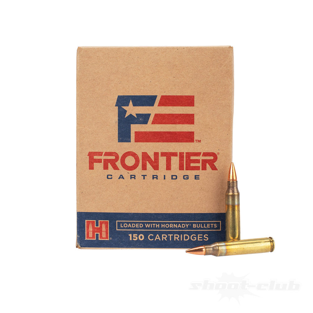 Hornady Frontier Catridges .223Remington 55gr Hollow Point Match 150 Rounds