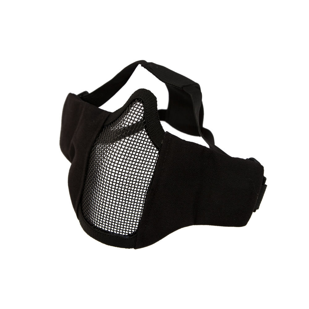 Invader Gear Steel Half Face Mask MK.II -  Black