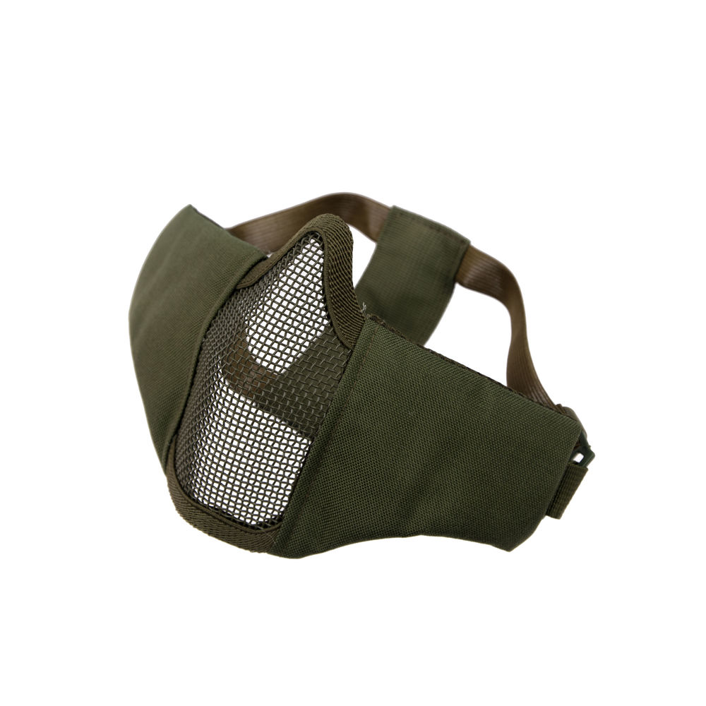 Invader Gear Steel Half Face Mask MK.II - OD Green