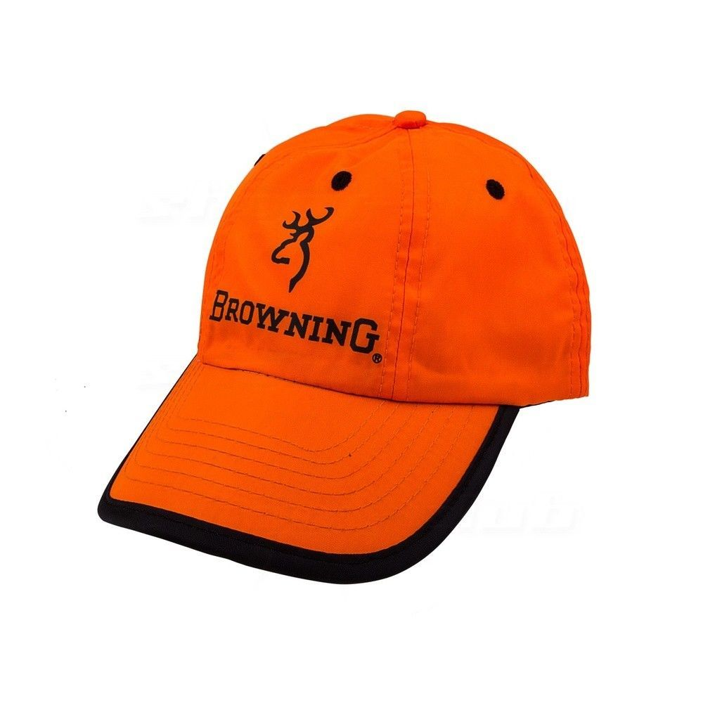 Jägermütze Browning Kappe Young Hunter in Neon Orange
