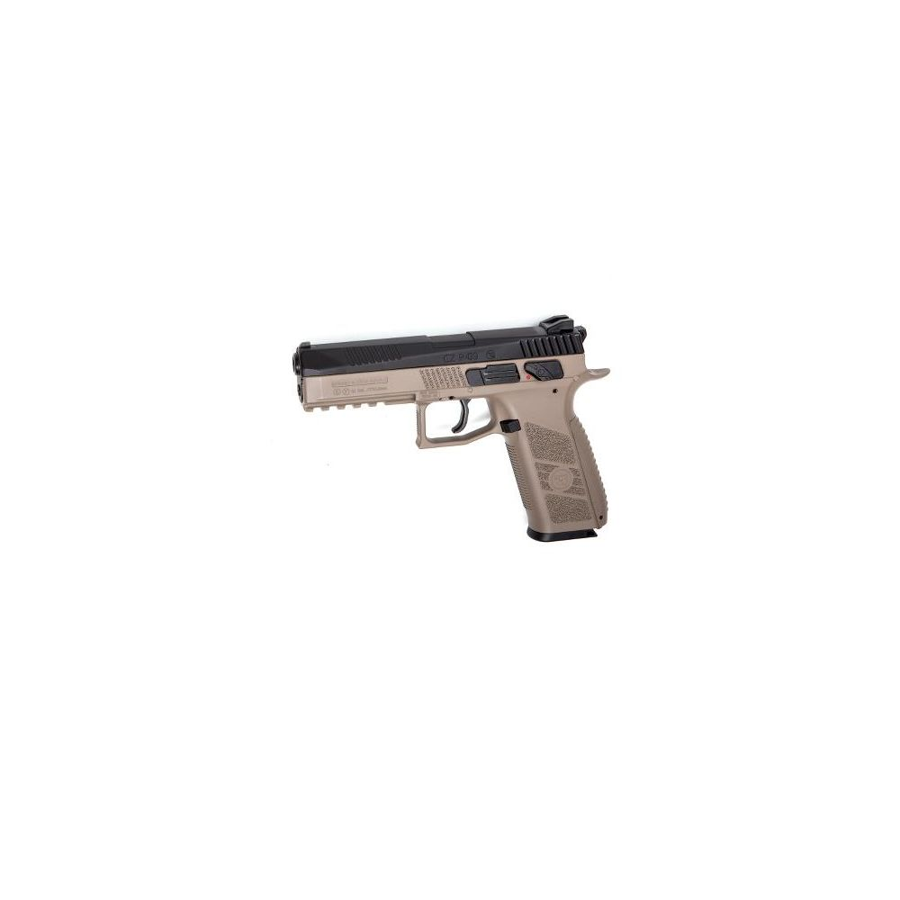 KJ Works CZ P-09 Airsoft CO2 GBB Pistole ab18 - TAN