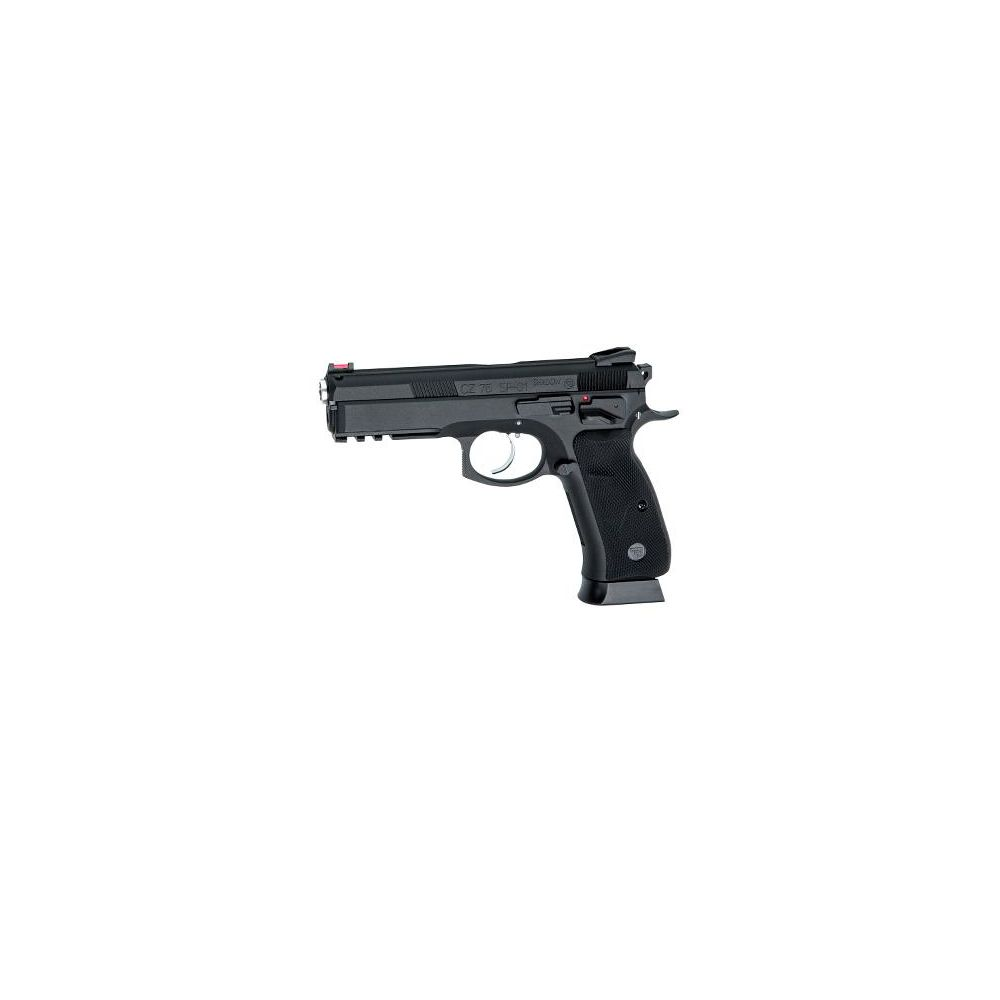 KJ Works CZ SP-01 Shadow Airsoft GBB/CO2 Pistole ab18 - Black