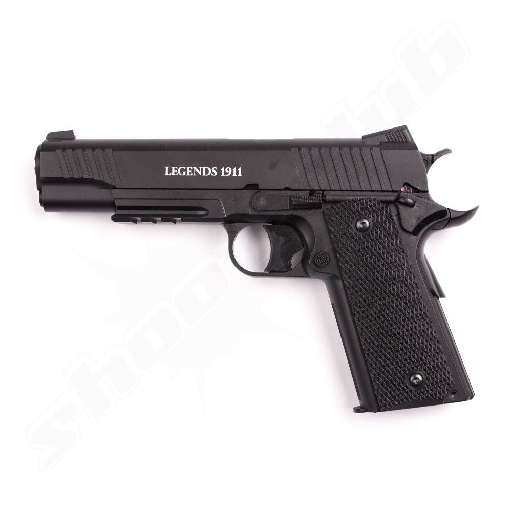 Legends 1911 CO2 Pistole Kal. 4,5mm - Metallschlitten