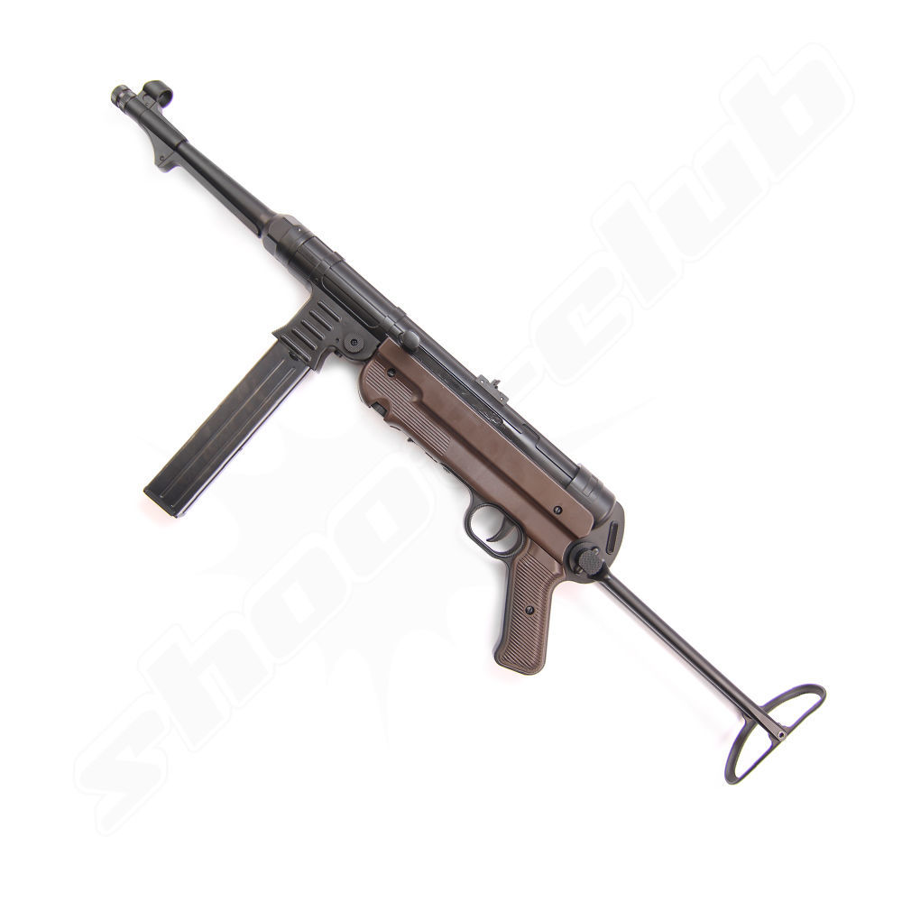 Legends MP German CO2 Gewehr Kal. 4,5mm BBs mit Klappschaft