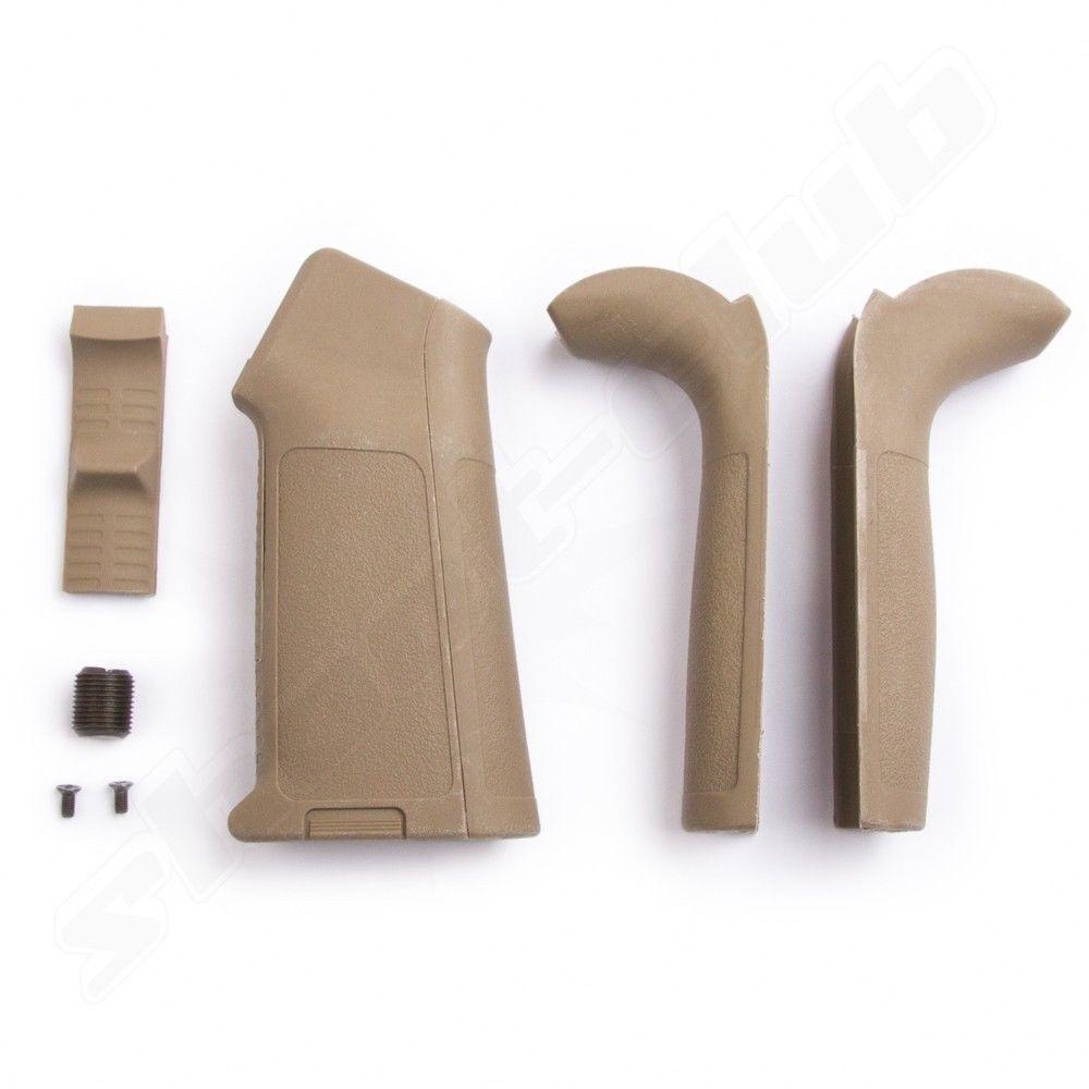 M4 Griffstück mit wechselbaren Griffschalen sandfarben