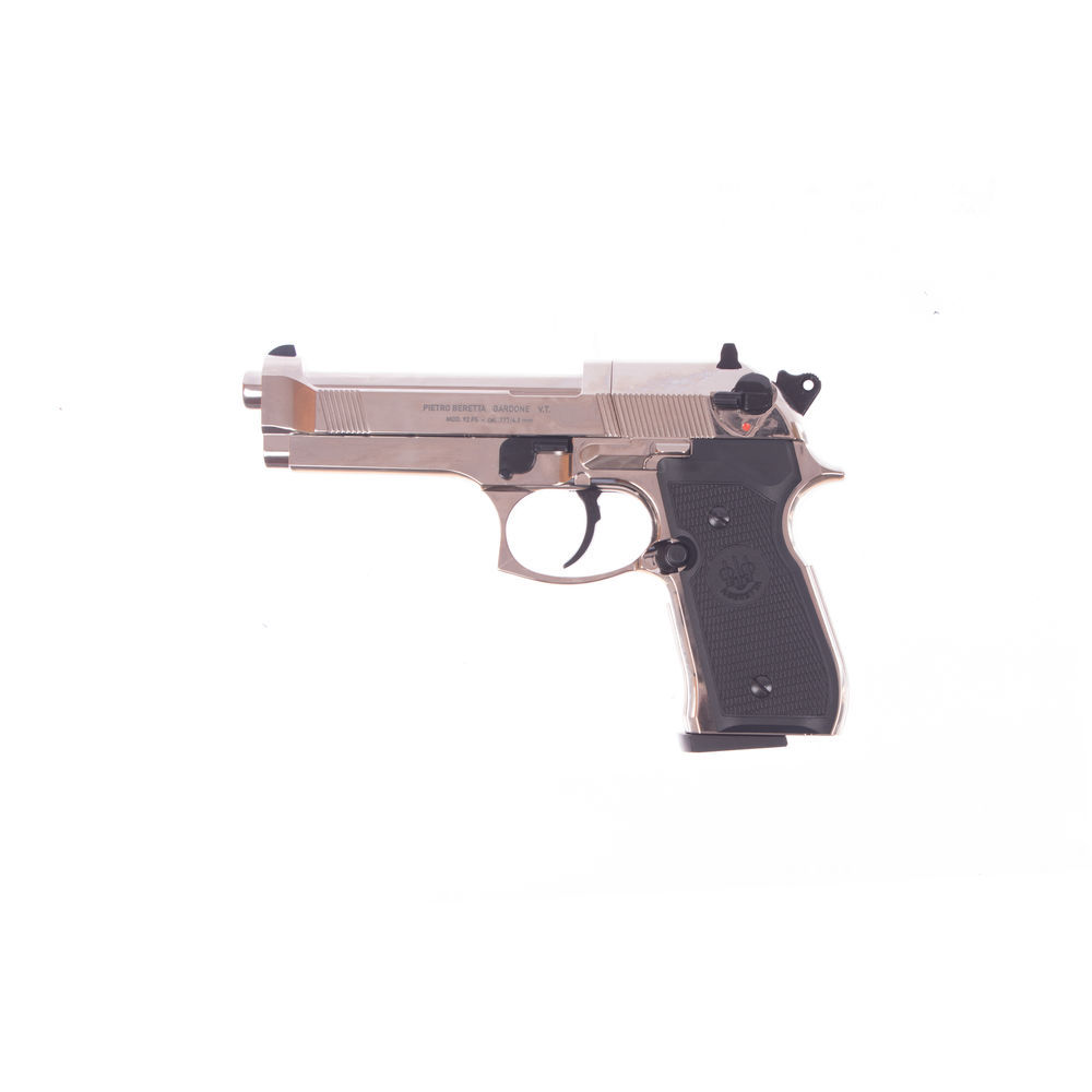 M92 FS  Beretta CO2 Pistole im Kaliber 4,5 mm Diabolo - polished chrome
