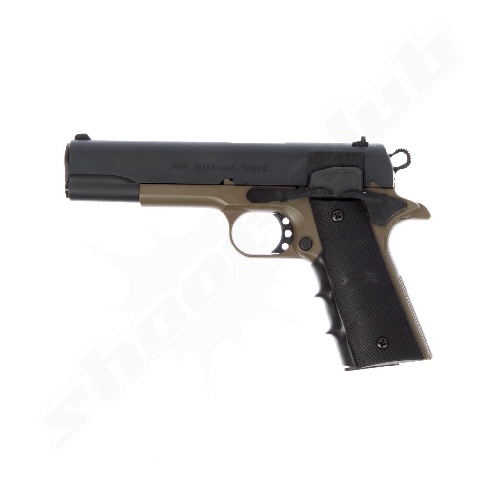 ME 1911 Sport black - dark earth Gaspistole