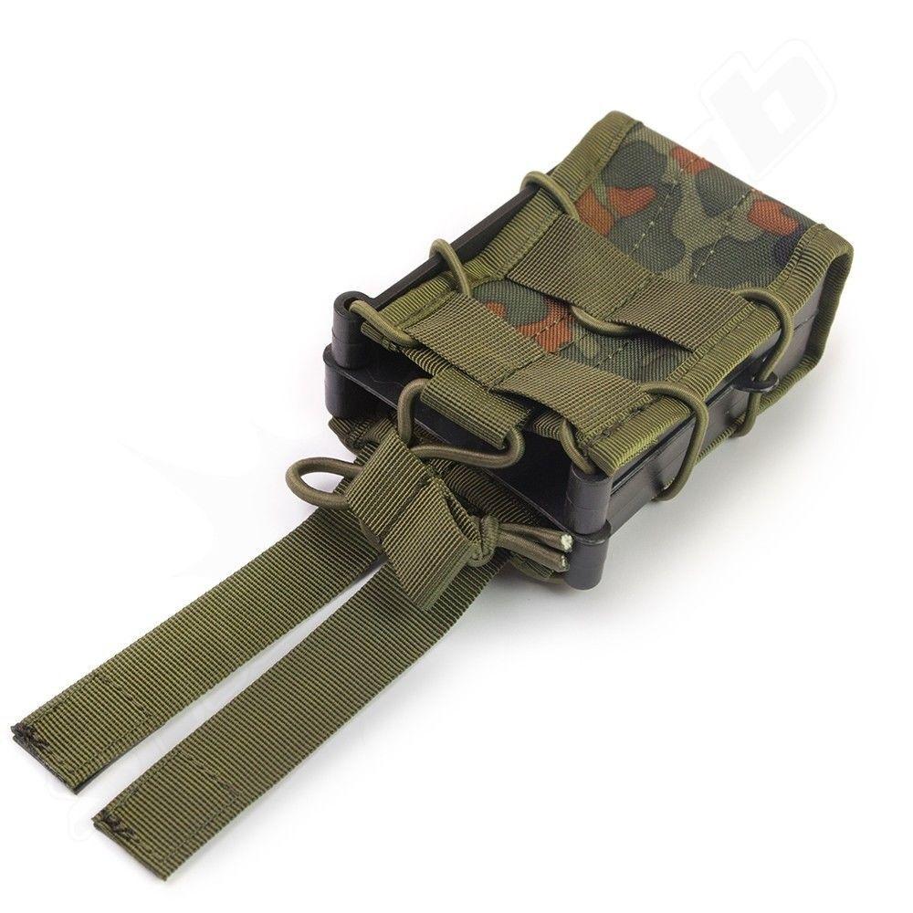 Magazintasche M4 TACO Style Bundeswehr Tarn 5FT - M4, AK, G36 Magazine