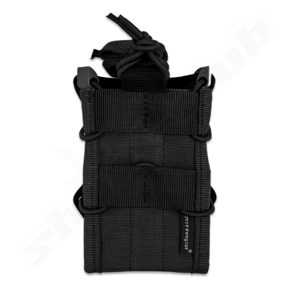 Magazintasche M4 TACO Style Typ 2  schwarz BK