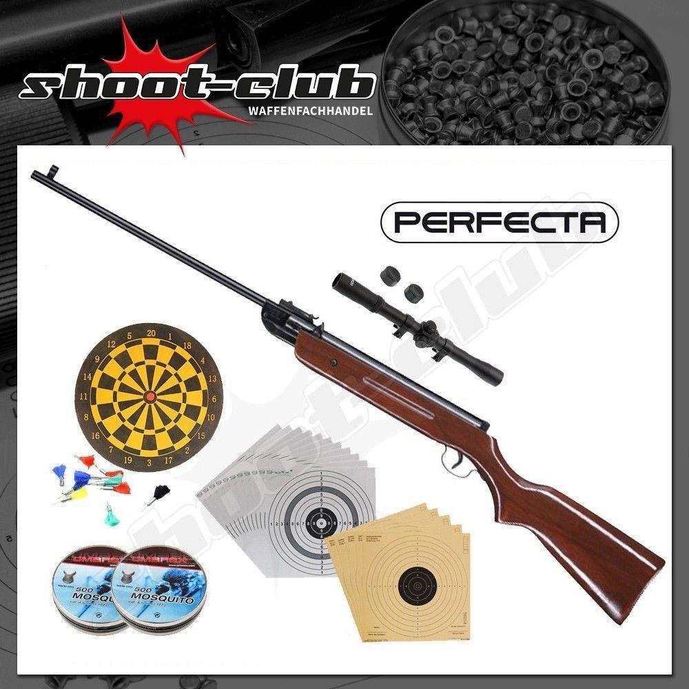Perfecta 32 Kipplauf 4,5mm - Luftgewehr - Set