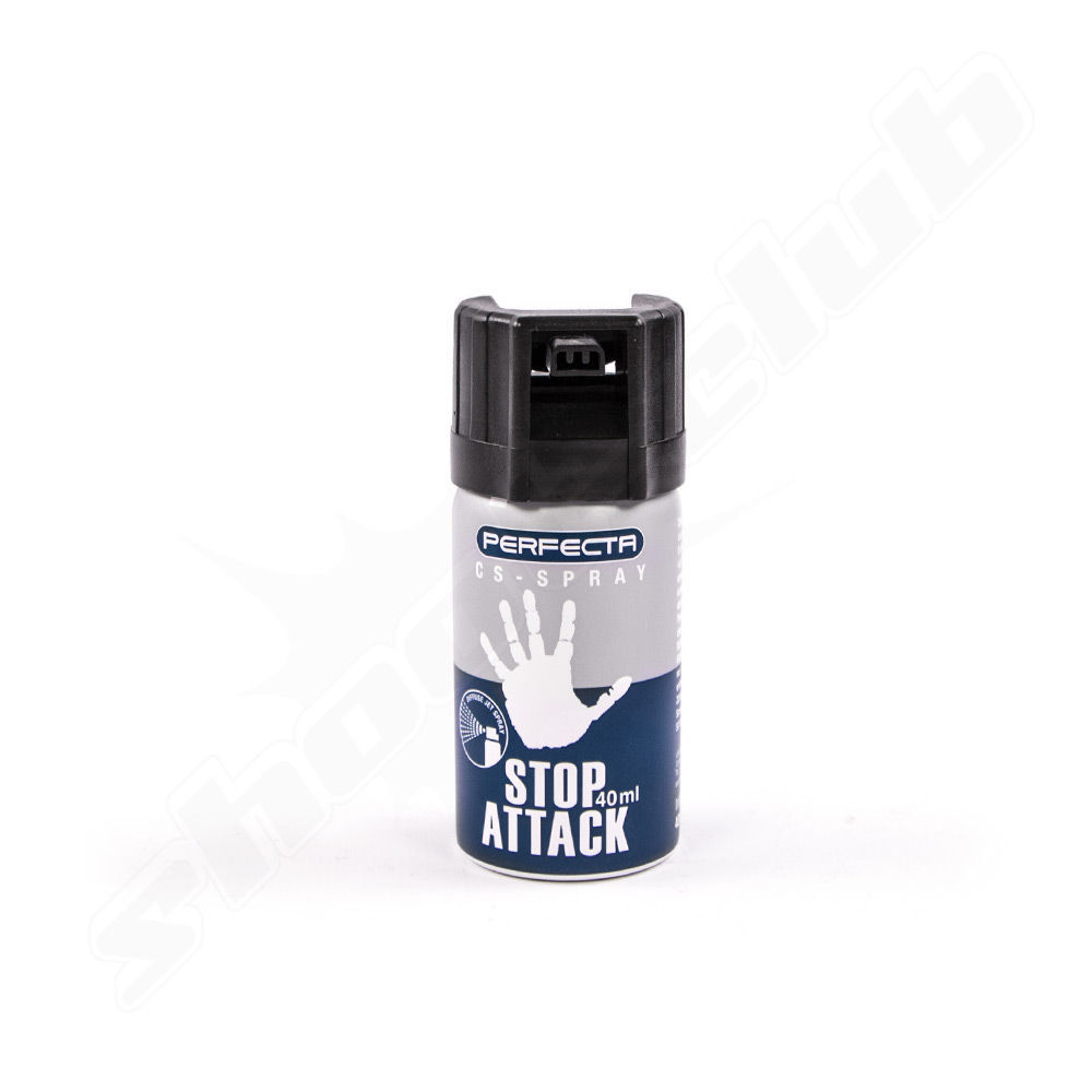 Perfecta Stop Attack CS Reizgas - 40 ml