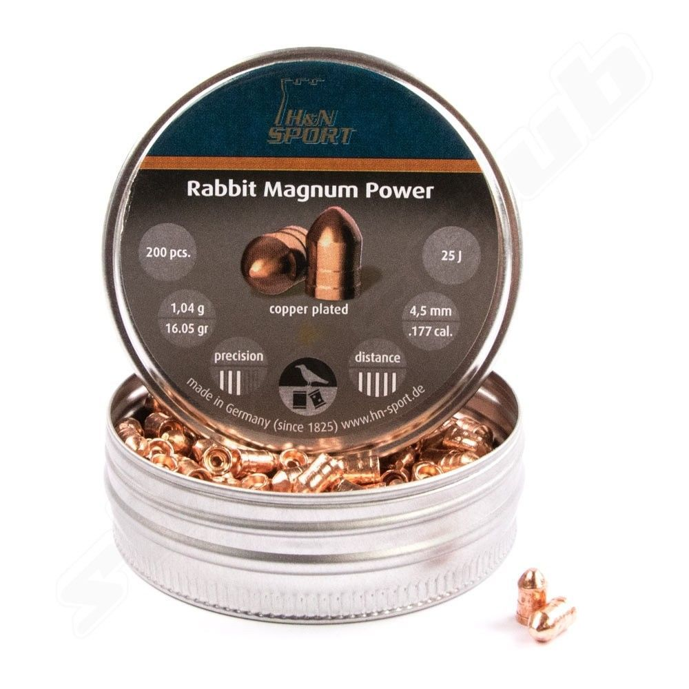 Rabbit Magnum Power 4,5mm Diabolos - 200 Schuss