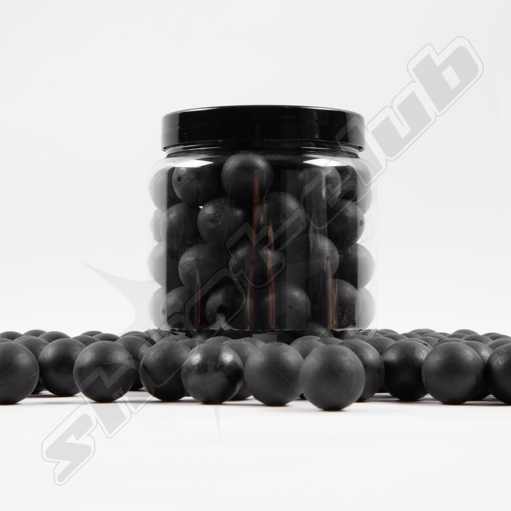 Rubberballs STRONG 80 Stk. Black .68