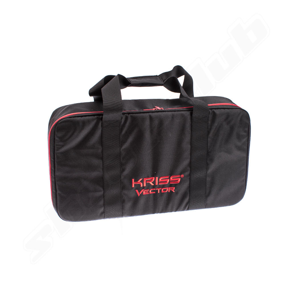 Satellit official licensed Kriss Vector Gun Case  schwarz / Rot Größe M