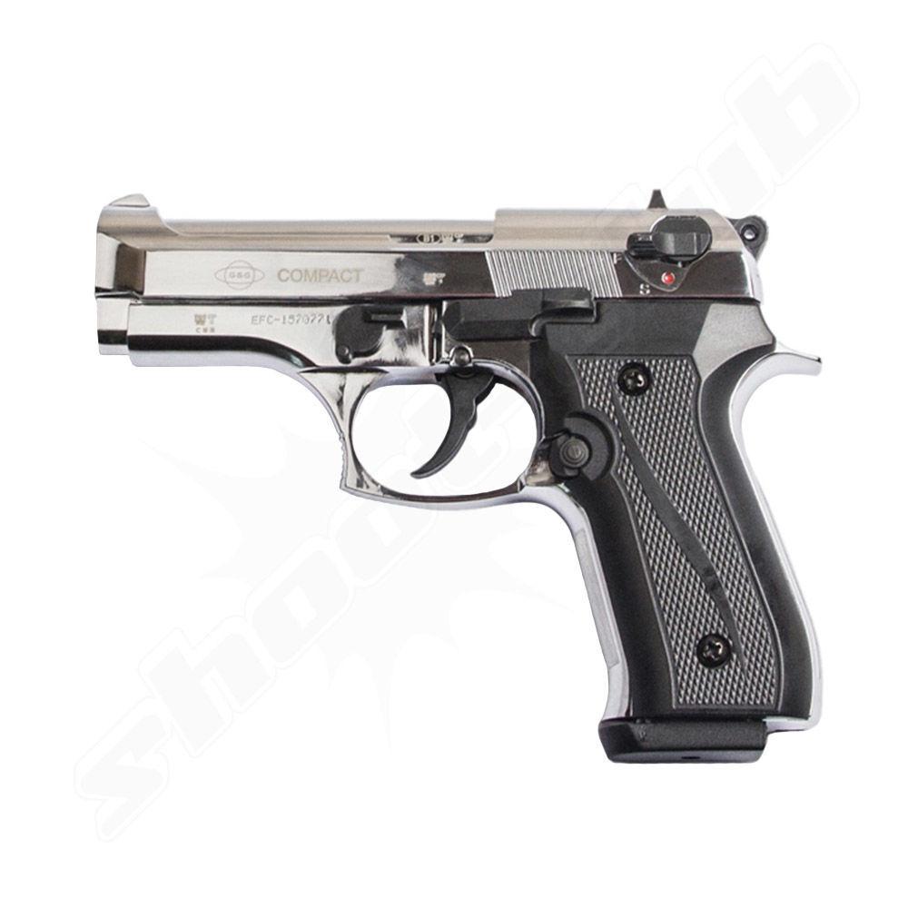 schreckschusspistole ekol firat compact 9mm p a k chrom. Black Bedroom Furniture Sets. Home Design Ideas
